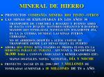 mineral de hierro