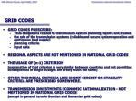 grid codes
