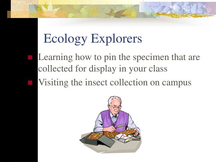 Ecology Explorers