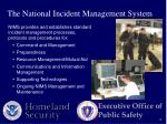 the national incident management system1