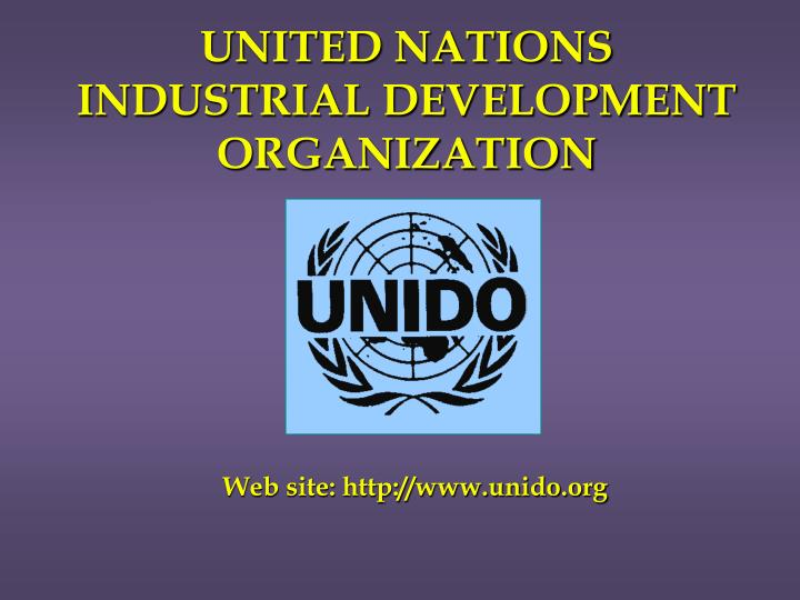 united nations industrial development organization n.