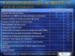 fonctionnalit s cl s de wsus 2 0 grille de comparaison