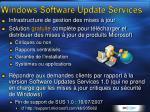 windows software update services