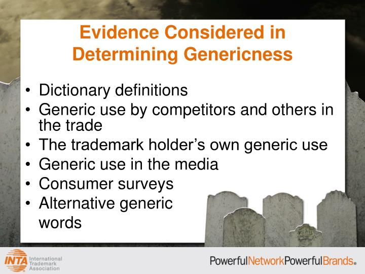 Evidence Considered in Determining