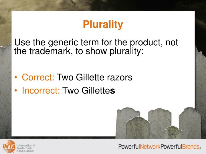 Plurality