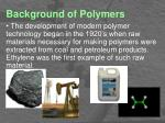 background of polymers3