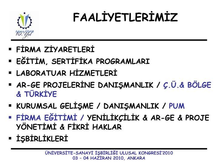 FİRMA ZİYARETLERİ