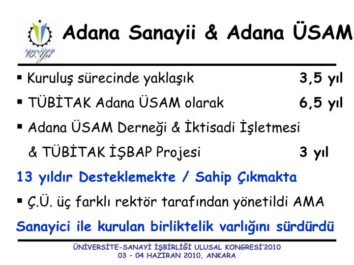 Adana Sanayii &
