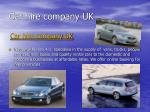 car hire company uk