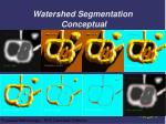watershed segmentation conceptual