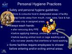 personal hygiene practices