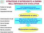 strategie d intervento a parma nell infanzia eta evolutiva