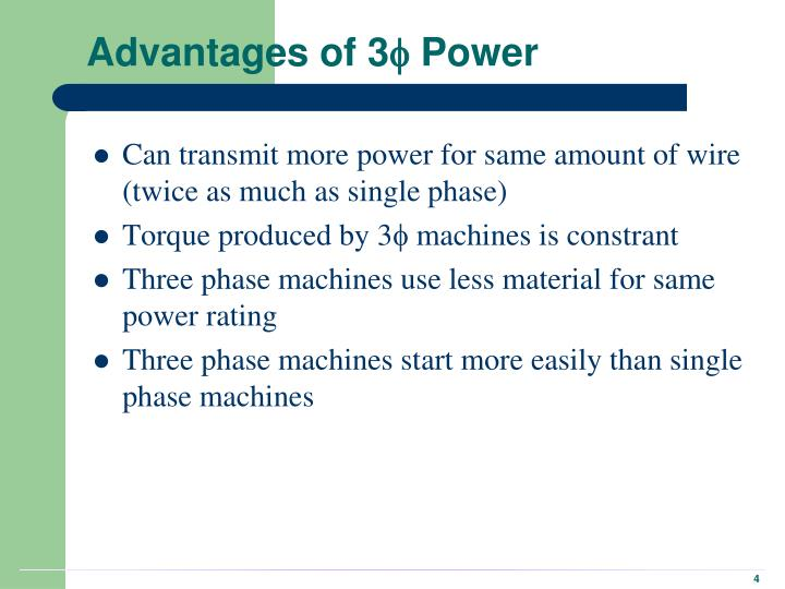 Advantages of 3