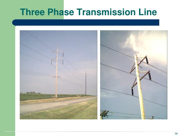 Three Phase Transmission Line