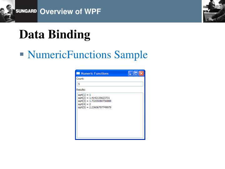 Overview of WPF