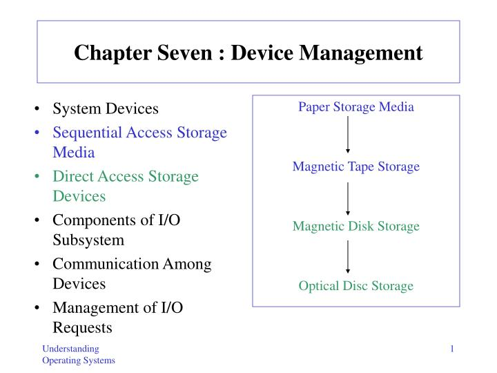 chapter seven device management n.