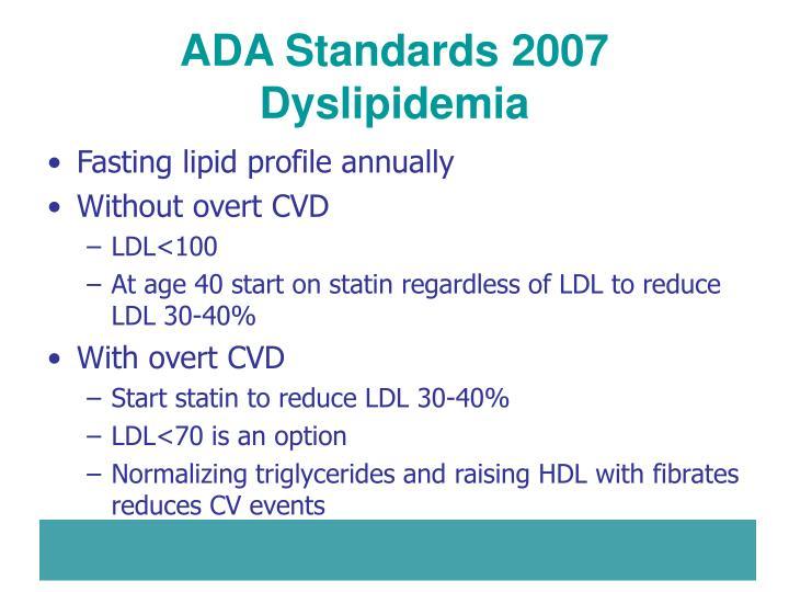 ADA Standards 2007