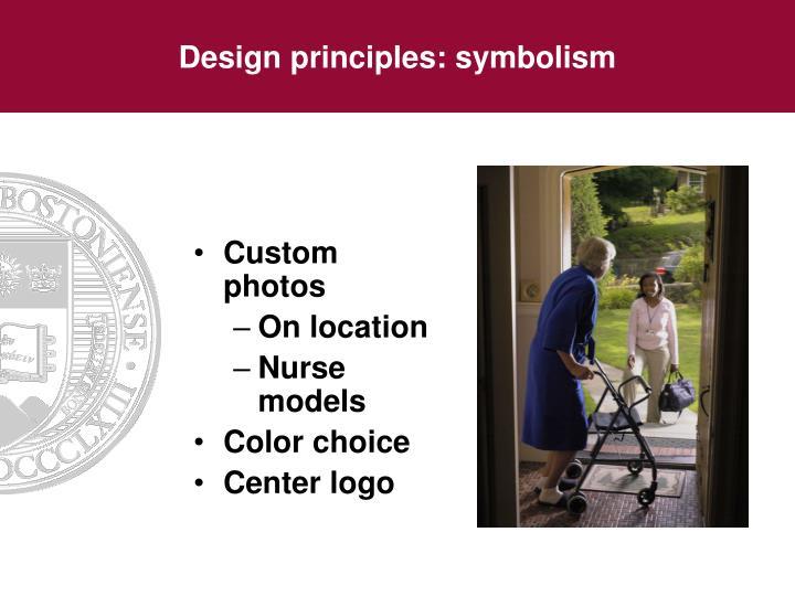 Design principles: symbolism