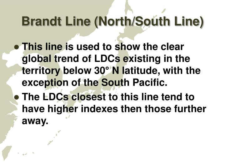 Brandt Line (North/South Line)
