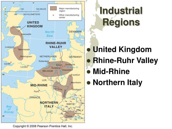 Industrial regions1