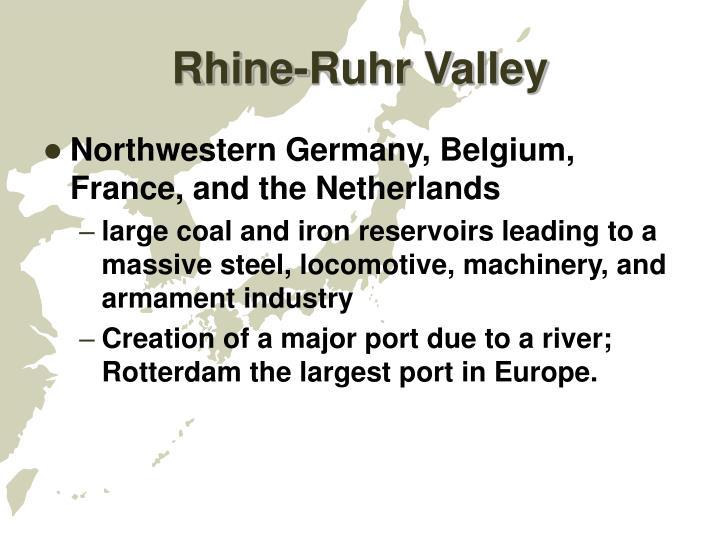 Rhine-Ruhr Valley