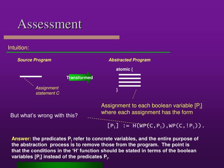 Abstracted Program