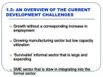 1 5 an overview of the current development challenges