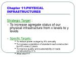 chapter 11 physical infrastructures