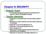 chapter 8 security