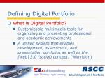defining digital portfolio1