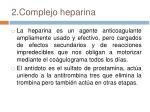 2 complejo heparina