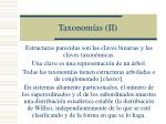 taxonom as ii