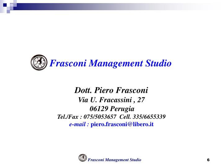 Frasconi Management Studio