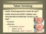 taken fonoloog3