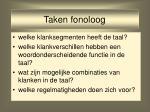 taken fonoloog5