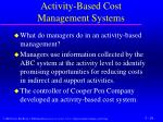 activity based cost management systems2