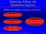 marketing selling and distribution expenses2