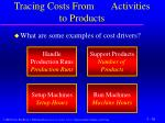 tracing costs from activities to products2