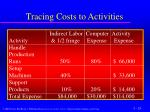 tracing costs to activities2