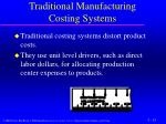 traditional manufacturing costing systems4