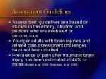 assessment guidelines2