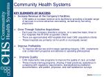 community health systems1