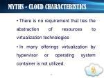 myths cloud characteristics1