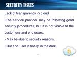 security issues14