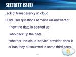 security issues15