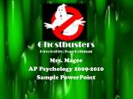 ghostbusters directed by ivan reitman