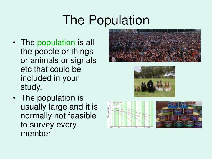 The population