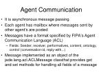 agent communication