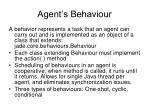 agent s behaviour