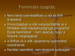 feminista csapda